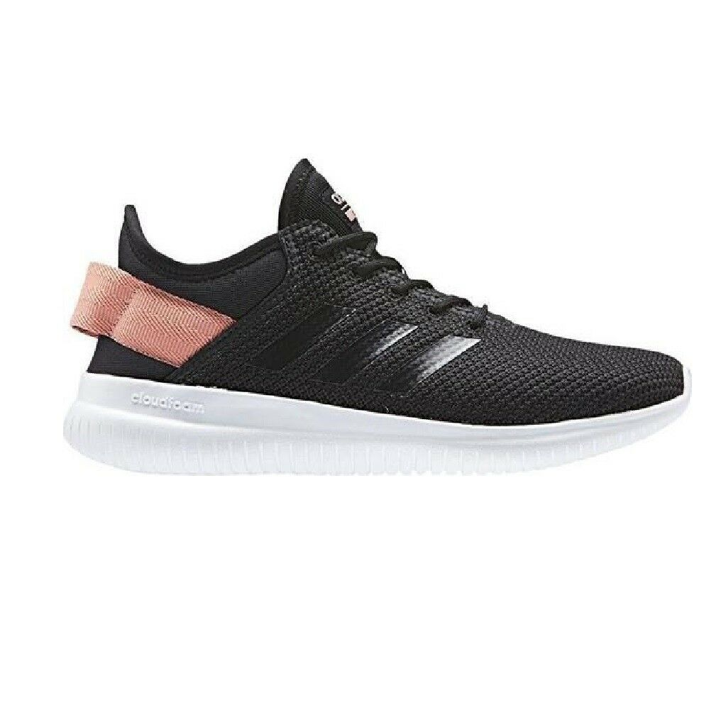 Adidas Cloudfoam Qt Flex Womens Casual shoes AQ1622 BLACK Womens Size 10