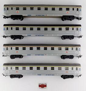 MARKLIN-H0-4050-4076-LOTE-4-VAGONES-PASAJEROS-1-CL-SNCF-COMO-NUEVOS-OVP