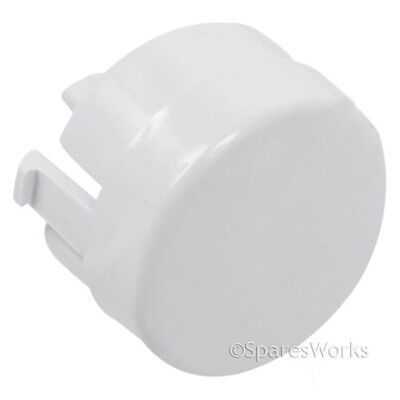 Reset Push Button White Genuine Indesit On-off
