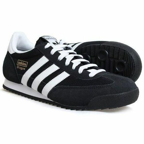 Size 11 - adidas Dragon Black
