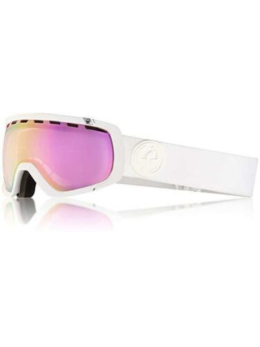 """NEW Dragon Alliance /""""ROGUE/"""" SN-17155 Whiteout Lumalens Pink Ion Snow Goggles"""