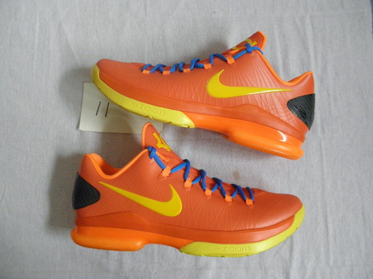 Nike Air Zoom KD 5 V kd5 Elite Kevin Team Naranja OKC Thunder Kevin Elite Durant DS nuevo S 11 venta de liquidacion de temporada 8e7a8d