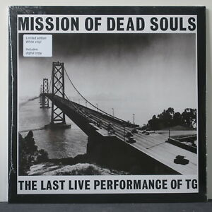 THROBBING-GRISTLE-039-Misson-Of-Dead-Souls-039-Ltd-Edition-WHITE-Vinyl-LP-NEW-SEALED