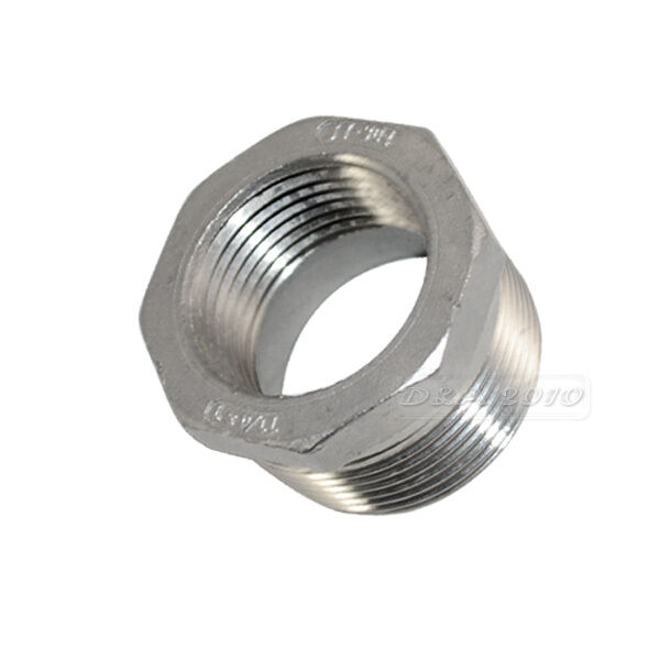 "1 1/4"" Male x 1"" female Stainless Steel threaded Reducer Bushing Pipe Fitting"