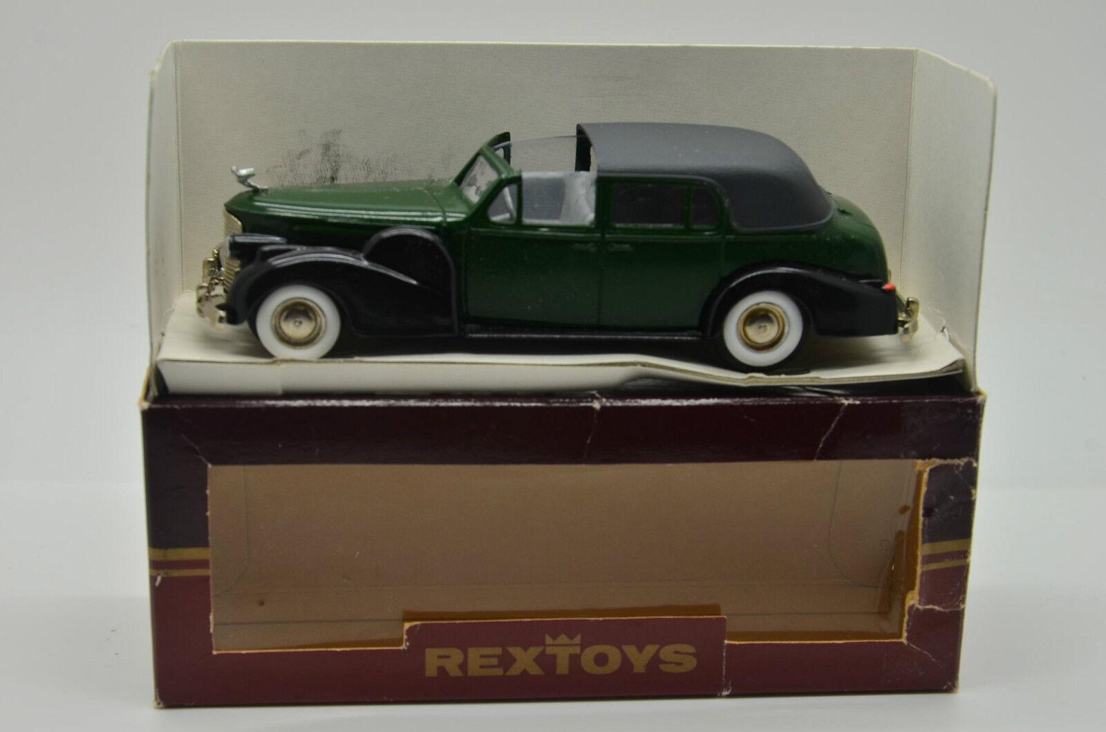 RARE     Cadillac V 16 Coupe de Ville Ouverde 1938-1940 Rextoys 1 43
