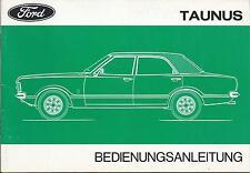 FORD   TAUNUS  1975  Betriebsanleitung    Bedienungsanleitung   Handbuch   BA