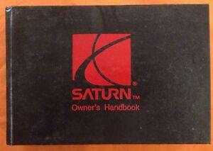 1996 saturn s series factory owners manual handbook 96 hardback rh ebay com 1991 Saturn 1993 Saturn