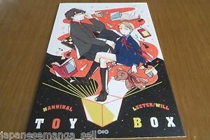 Doujinshi-Hannibal-Hannibal-LECTER-Will-A5-18pages-con-kitsune-TOY-BOX