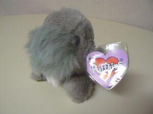 Puffkins Plush WHISKERS Walrus #6667 SWIBCO Birthdate 4-2-98 NWT