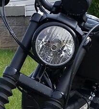 Harley Sportster Black Upper Fork Covers