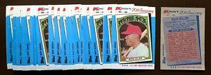 50) RICHIE ALLEN Chicago White Sox 1982 Topps Kmart 20th Anniversary Card LOT