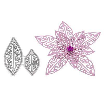 3D Flower Cutting Dies Metal Stencil DIY Scrapbooking Paper Card Embossing Craft