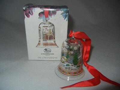 Bello Hutschenreuther Natale Campana Vetro 1993 Provenza + Ovp (la Mia Pos. 1993-2)-r Weihnachtsglocke Glas 1993 Provence + Ovp (meine Pos. 1993-2) It-it Vendita Calda Di Prodotti