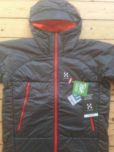HAGLOFS BARRIER III BELAY MEN'S INSULATED JACKET. MEDIUM. BRAND NEW WITH TAGS.
