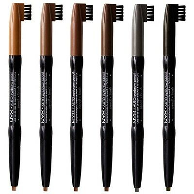NYX Auto EYEBROW Pencil (EP) - Pick Any 1 Color