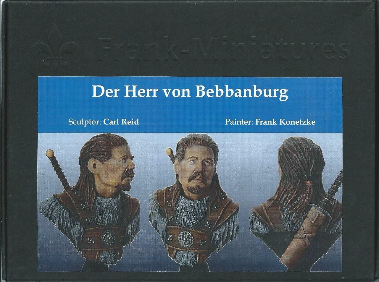 Frank Miniatures The Master of Bebbanburg 1 9th Unpainted bust kit CARL REID