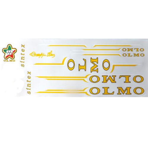 Olmo decal  set  # 2 for Campagnolo vintage bike resto new