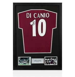 2cd87eb8a27 Framed Paolo Di Canio Signed West Ham United Shirt - Number 10 ...