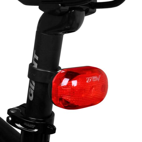 BV Bike 5 LED Front Head /& Tail Flash light Set  BV-L805-R 5 Pack