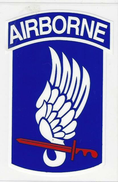 STICKER - U.S.ARMY 173rd AIRBORNE BRIGADE
