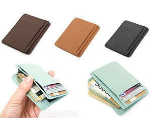 Leather mini slim wallet man useful card wallets small purse image is loading leather mini slim wallet man useful card wallets colourmoves