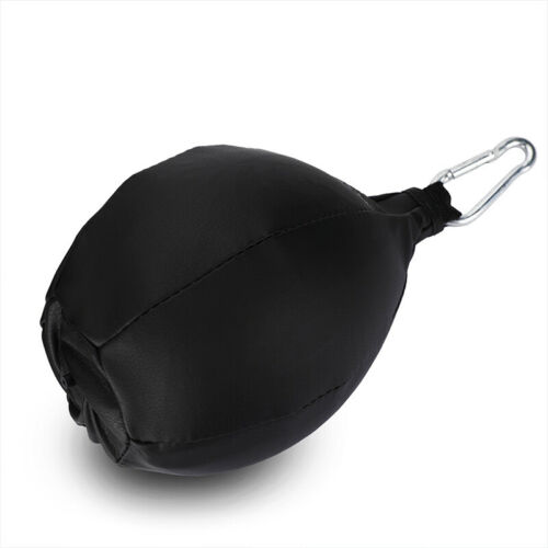 Genuine Leather Speed Ball Training Punching Speed Bag Boxing MMA Pear Punch Bag