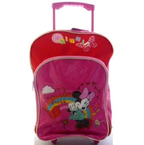 Disney Minnie Mouse Grande roue chariot enfants école sac de voyage bagages b30304