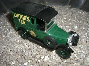 Antiquitäten & Kunst Talbot Liptons Tea 1927 Matchbox Made In England By Lesney Nr 10