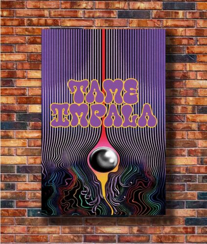 Art Tame Impala Custom Rock Music Psychedelic 24x36in Poster Hot Gift C2779