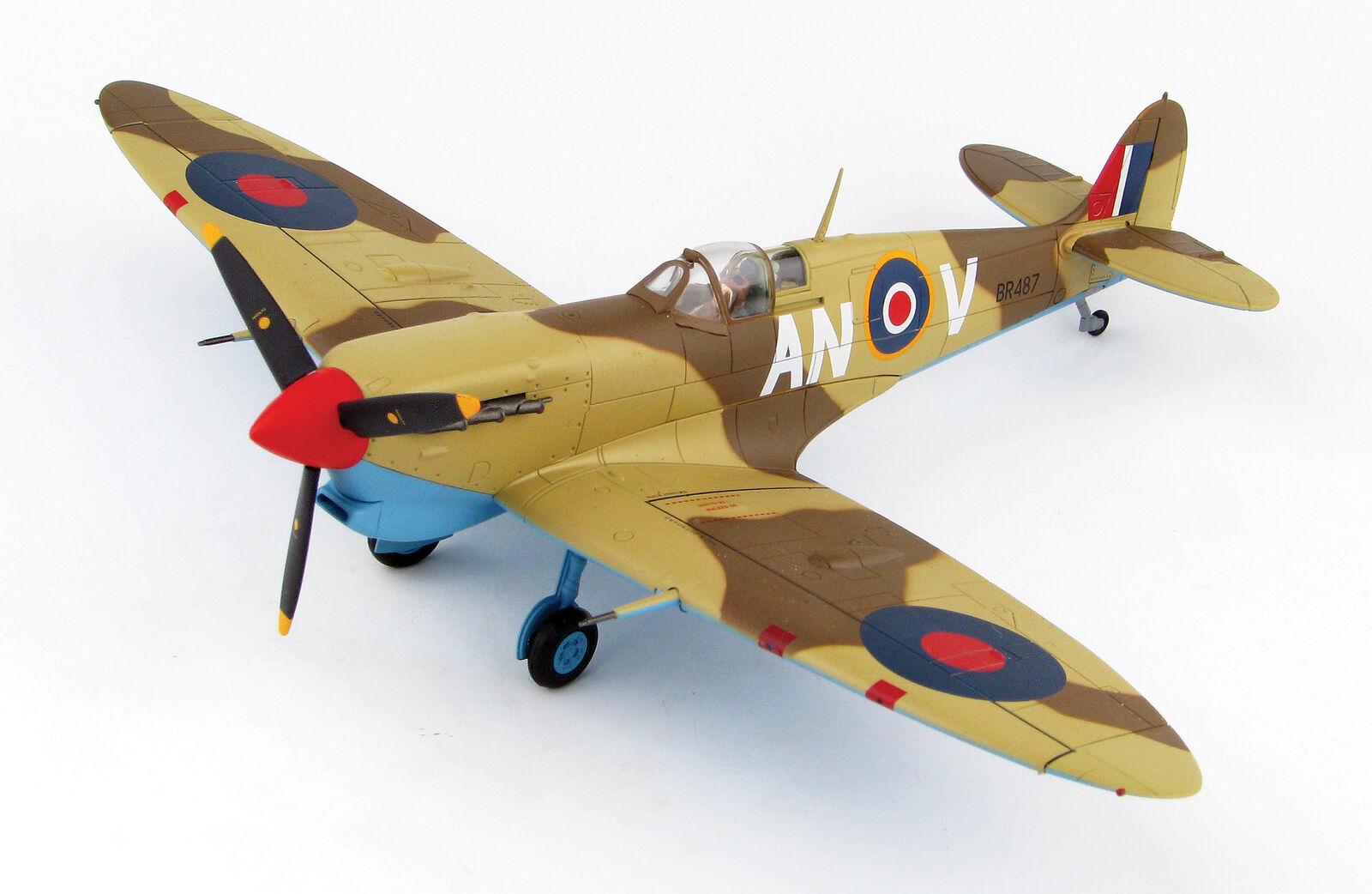 Hobby Master 7851 SPITFIRE VB no 417 Sqn Túnez 1943 1 48 escala Diecast Modelo