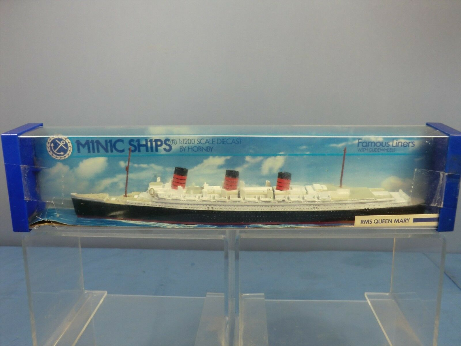 Hornby Triang Minic Ships Modelo No.M703 RMS Queen Mary MIB