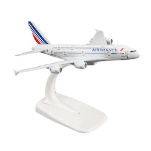 1-400-16cm-A380-Airfrance-Airline-Diecast-Toy-Models-Aircraft-Aeroplane-Plane