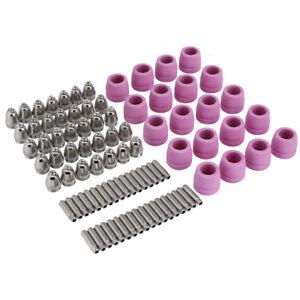 90Stk-Zubehoer-Set-Fuer-Plasmaschneider-Plasma-Schneidduese-Duesen-Elektroden-AG-60
