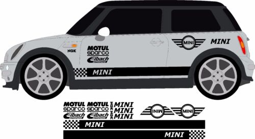 BMW MINI Mini Full Racing Decals John Cooper Works Rally Track Street