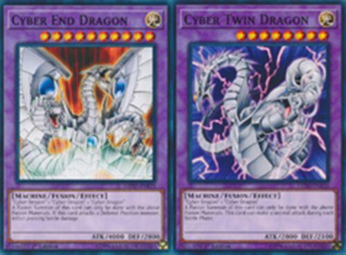 Cyber Twin Dragon 1st mint  LEDD Cyber End Dragon