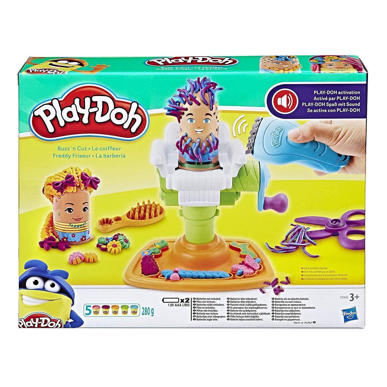 Play-Doh Buzz N Cut Barber Shop Hair Style Playset