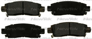 Disc Brake Pad Set-Galaxy Ceramic Disc Pads Rear NewTek SCD986