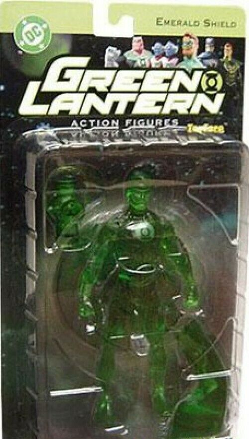 DC Green Lantern Series 1 Emerald Shield Hal Jordan Exclusive Exclusive Exclusive Action Figure 2d2f58