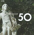 Best Mozart 50 (CD, Mar-2010, 3 Discs, EMI Classics)