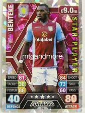 Match Attax 2013/14 Premier League - #035 Christian Benteke - Star Player