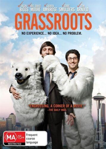 1 of 1 - Grassroots (DVD, 2014)-REGION 4-Brand new-Free postage
