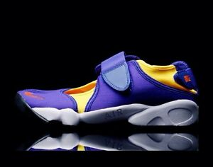Image is loading Nike-Air-Rift-Blue-amp-Yellow-Size-3- 2b1f67f352fe