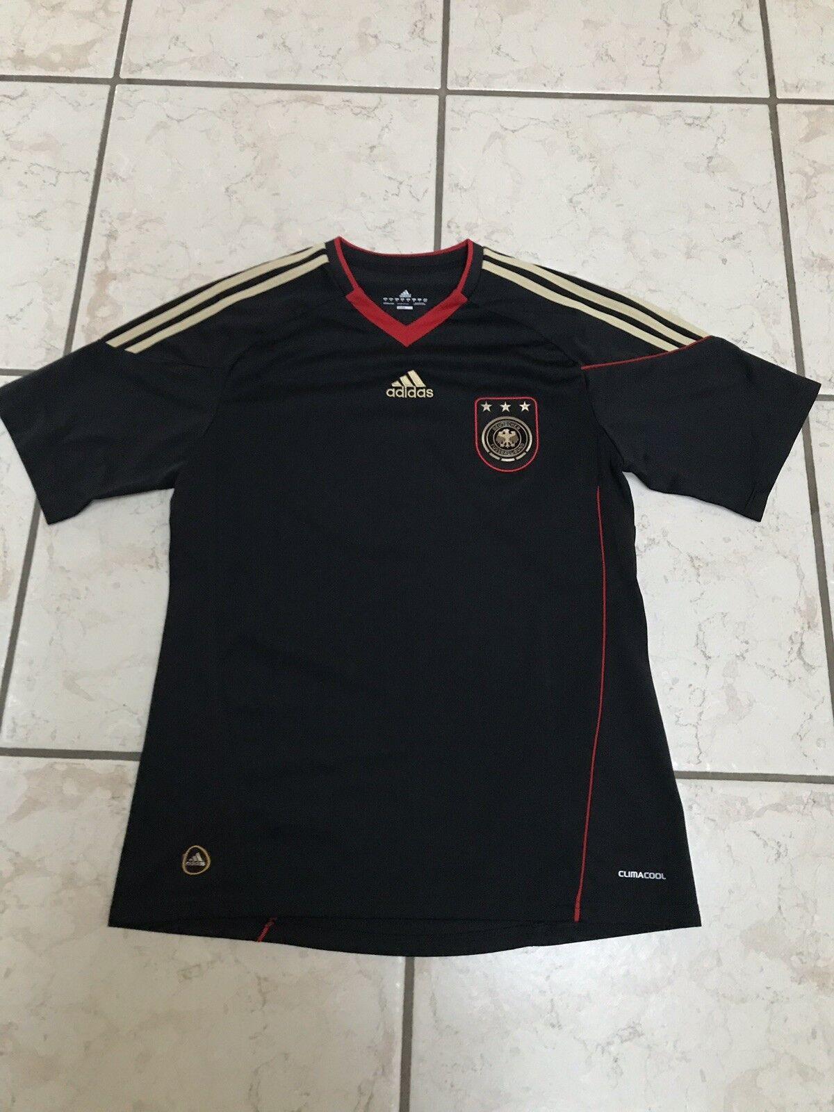Deutschland Deutschland Deutschland Trikot WM 2010 Grösse M Schwarz 68d4dd