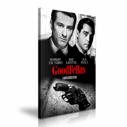 20X30 Inch Goodfellas Movie Stretched Canvas Wall Deco 50x76cm