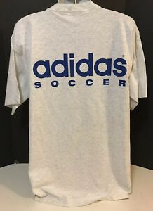 Details about NEW Adidas Soccer USA Olympic Coaches Program Big Logo Tee Shirt Size XL VIntage