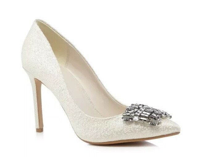 No. 1 Jenny Packham 'Priscilla' High Stiletto Court shoes - Size 6 - BNIB