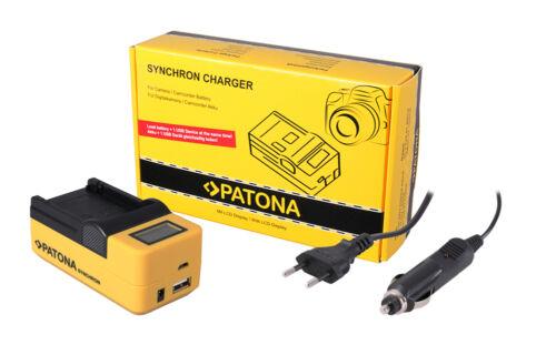 LCD cargador para Intova ic-14 bajo el agua cámara 2x patonas para batería Battery Pack