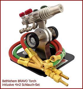 TOP-Angebot-Bethlehem-Burners-The-BRAVO-Torch-mit-4in2-Schlauch-Set