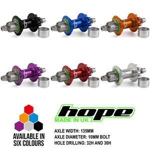 Hope-Pro-4-Trial-Single-Speed-Rear-Hub-All-Colors-and-Options-Brand-New