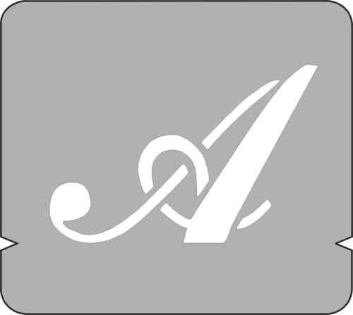 STENCIL STENCILS SET LETTERS ALPHABET NUMERALS /& SYMBOLS 40 50 75 100 mm